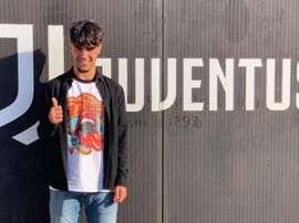 Joel Ribeiro, de 16 anos, é aposta da Juventus. Instagram/JoelRibeiro