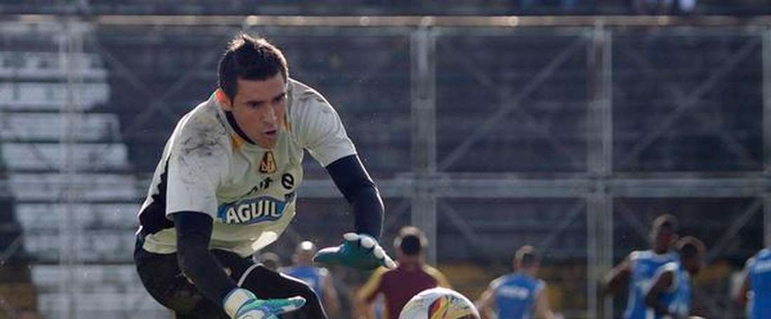 Joel Silva, portero del Deportes Tolima. Twitter