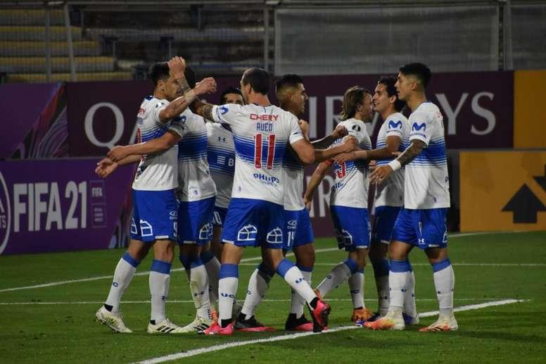 Um Grêmio irreconhecível perde em Santiago. Twitter @CruzadosSADP