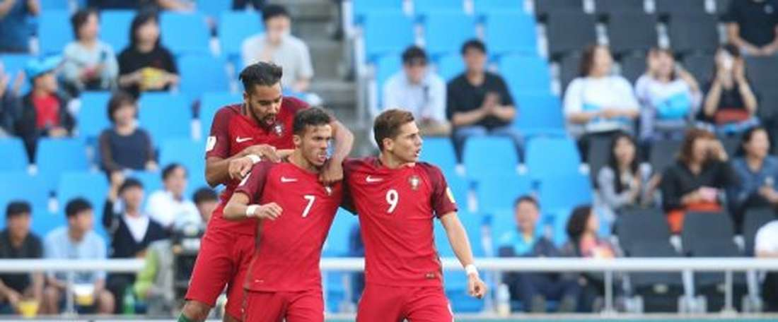 Les joueurs du Portugal U20. FPF