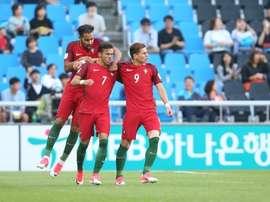 O jovem avançado luso-suíço esteve no Mundial sub-20 na Coreia do Sul. FPF