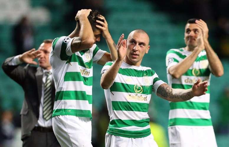 El Celtic sólo pudo empatar. UCL