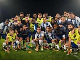 Soares foi a estrela do grupo, na última vitória da pré-época. Twitter/FCPorto