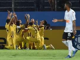 Corinthians perde e vai para o tudo ou nada em São Paulo. Twitter @LibertadoresBR