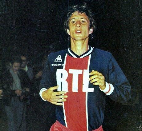 Cruyff jugó con los parisinos, datos que pocos conocen. PSG_inside