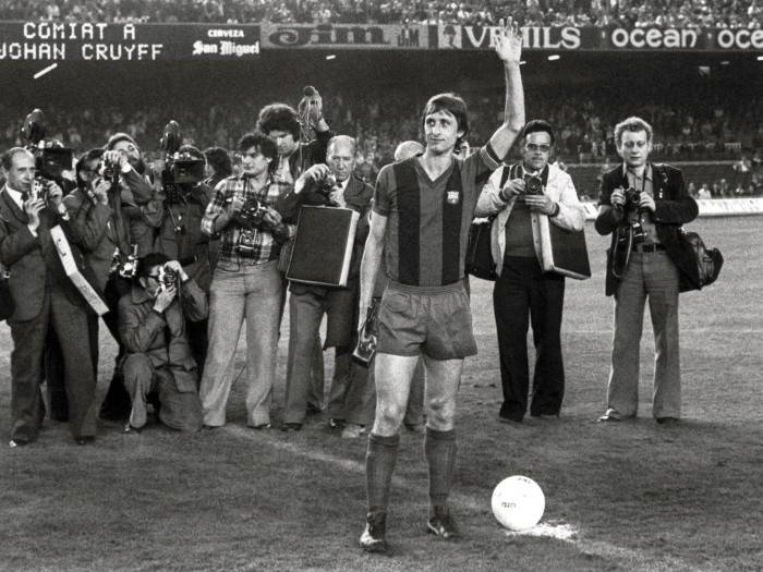 El Madrid descartó a Cruyff por su precio. EFE/Archivo