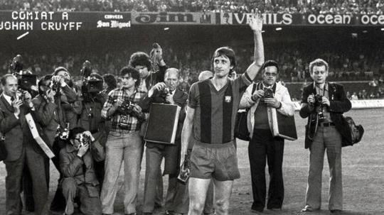 L'Ajax de Cruff est la meilleure équipe de l'histoire selon 'FourFourTwo'. EFE