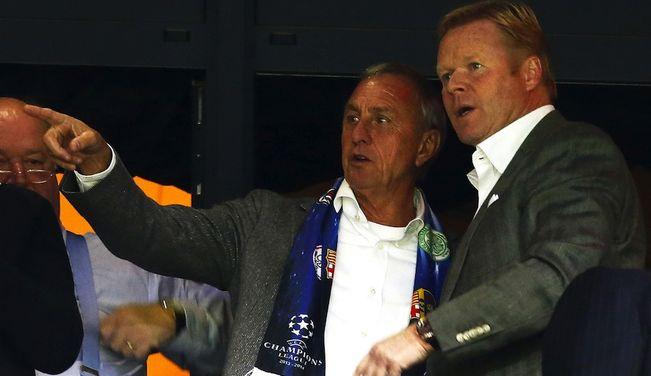 Cruyff was a huge inspiration to Koeman. EFE
