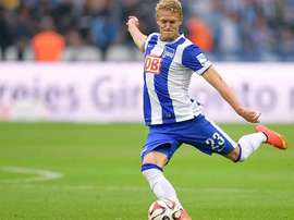 Johannes van den Berg, lateral recientemente incorporado por el Getafe procedente del Hertha de Berlín. EFE