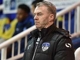John Sheridan, en su etapa como técnico del Oldham Athletic. OfficialOAFC