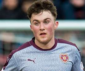 John Souttar is set to be handed his debut against Belgium. HeartsFC