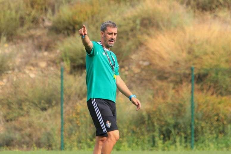 Bolo espera que la Ponferradina tenga una gran temporada. Twitter/SDP_1922