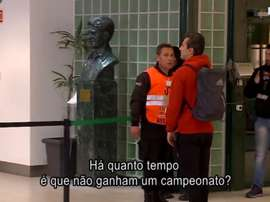 Jonas se encaró con varios seguidores del Sporting. ABolaTV