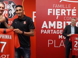 Martin et Raphinha signent à Rennes. Staderennais