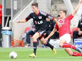 Jonas Meffert se ha ganado la oportunidad de volver al Bayer. Bayer04