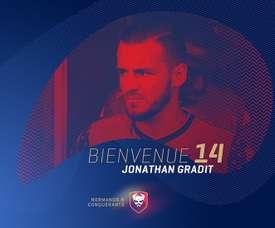 Jonathan Gradit rejoint Caen. Twitter/SMCaen