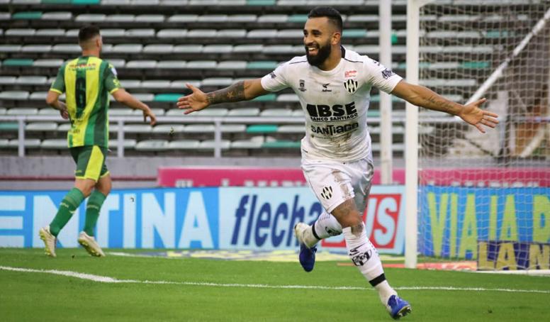 Un jugador de Central Córdoba irá a por todas contra Boca. Twitter/CACCSantiago