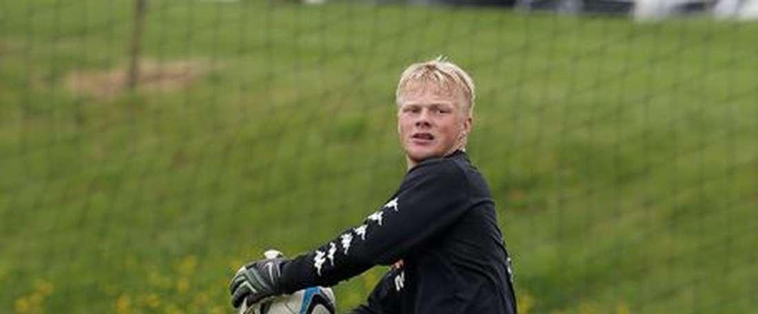 Jonathan Mitchell, con las categorías inferiores del Derby County. DCFC