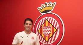 Soriano llega al Girona. Twitter/GironaFC