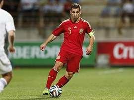 Jonny, convocado con la Selección Española Sub 21 ante Georgia. Twitter