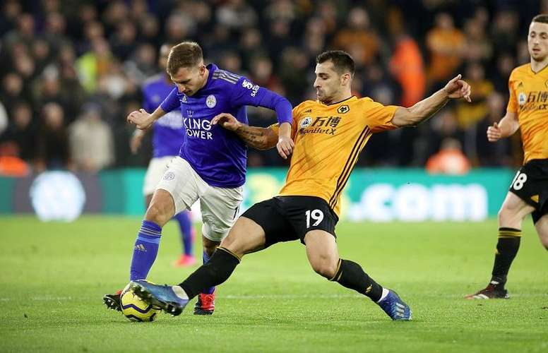 Wolves y Leicester empataron. Captura/Twitter/LCFC