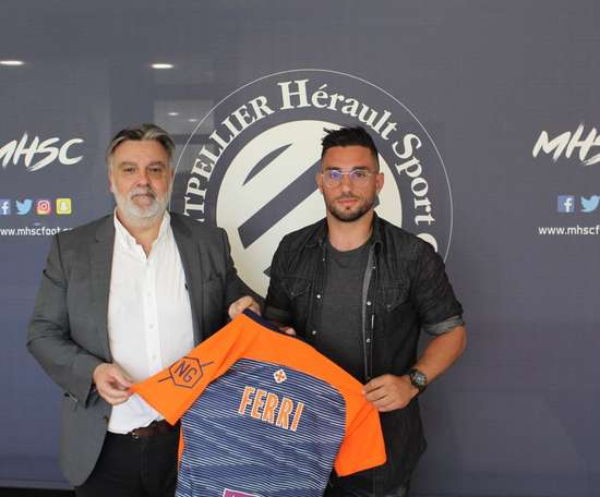 El Montpellier ata a Jordan Ferri. MHSC