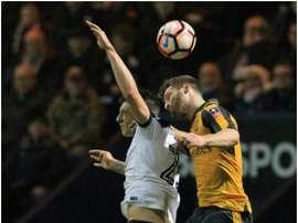 Jordan Hugill estaría más cerca del Sunderland. AFP