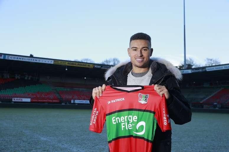 Jordan Larsson, hijo de Henrik Larsson, ficha por el NEC Nijmegen. NECNijmegen