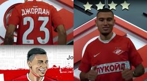 Le fils de Larsson porte le Spartak Moscou. FCSM_Official