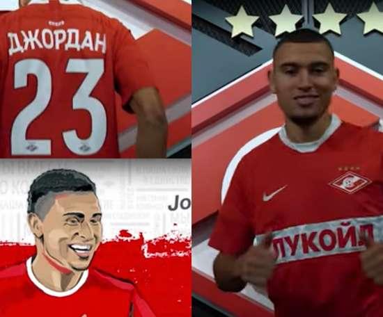 Jordan Larsson est un nouveau joueur du Spartak. FCSM_Official