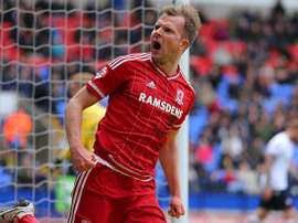 Jordan Rhodes has had a difficult last few season. AFP