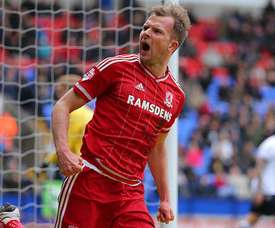 Rhodes deja el Middlesbrough y se va al Sheffield Wednesday. AFP