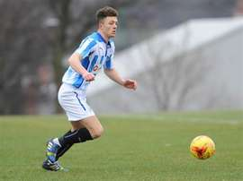 One of the three Jordan Williams who took to the pitch on Tuesday. HTAFC