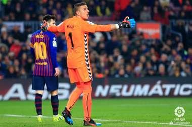 Masip defendeu um penalti a Messi. LaLiga