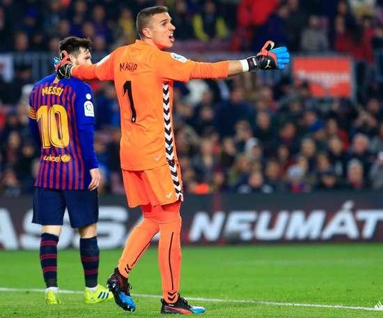 Jordi Masip a été excellent. Liga