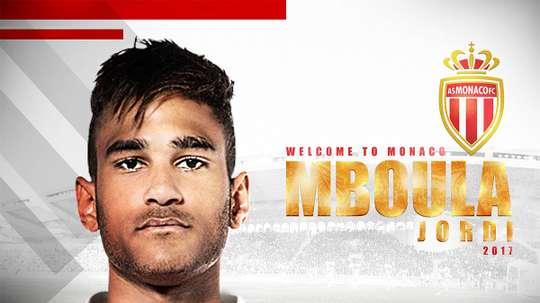 Jordi Mboula: New signed player at AS Monaco. ASMonaco