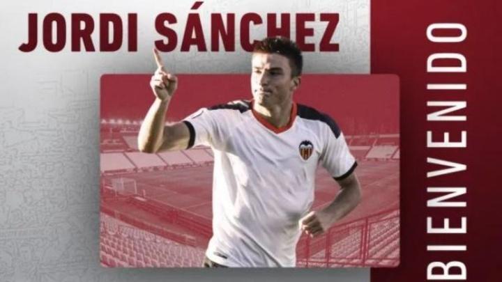 Jordi Sánchez ficha por el Albacete. Captura/Twitter/AlbaceteBPSAD