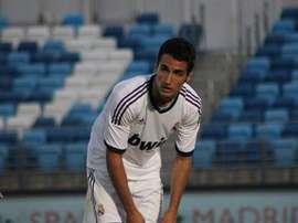Jorge Casado, durante su paso por el Real Madrid Castilla. RealBetisBalompié