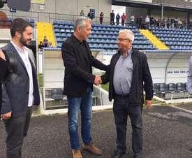 Jorge Costa, nuevo entrenador del Arouca. FCArouca