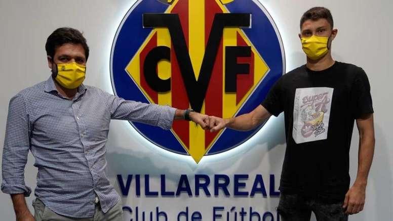 Jorge Cuenca deja el FC Barcelona y se suma al Villarreal. VillarrealFC
