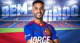 Jorge de Oliveira Moraes, nuevo jugador del Basilea. FCBasel1893