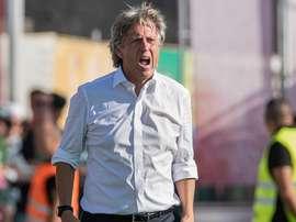 O técnico de 63 anos entrou com o pé direito nesta nova edição da liga portuguesa. Twitter/MF