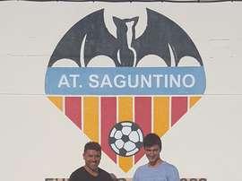 Jorge Julià, nuevo jugador del Atlético Saguntino. AtcoSaguntino