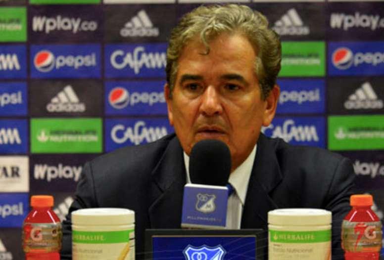 Jorge Luis Pinto destacó la importancia de ganar fuera. MillonariosFC