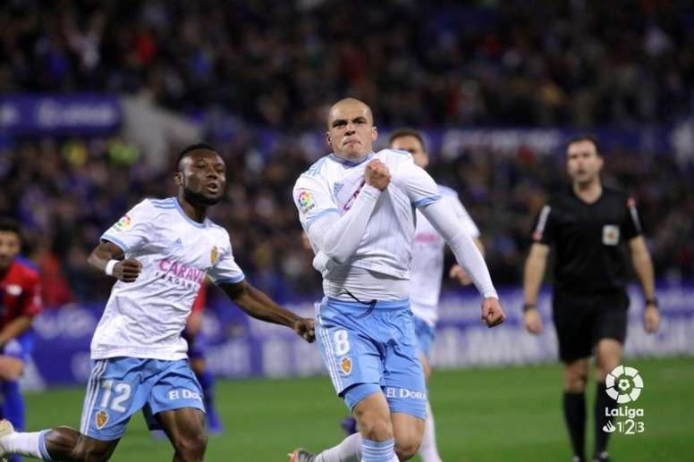 Jorge Pombo tiene experiencia en eso de marcar goles. LaLiga/Archivo