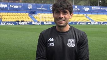 Jorge Romero se reencontrará con Álvaro Aguado. Captura/ADAlcorcónS.A.D