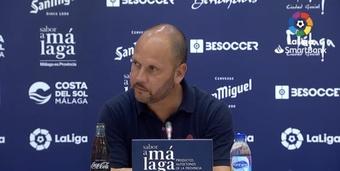 José Alberto señaló el buen trabajo del equipo en la victoria ante el Girona. Captura/LaLiga