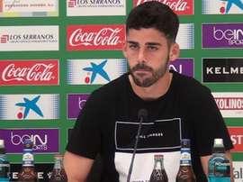 José Antonio Caro elogió a la afición del Córdoba, su actual equipo. ElcheCF/Archivo