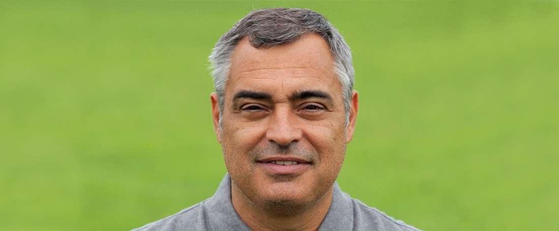 O técnico sadino quer um bom jogo da sua equipa frente ao Sp. Braga. VFC