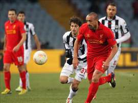 Enrique playing for Liverpool. EFE